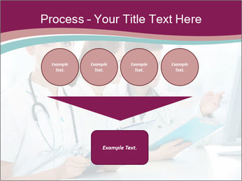 Group of medical students PowerPoint Template - Slide 93