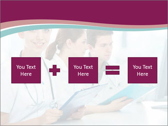 Group of medical students PowerPoint Template - Slide 95