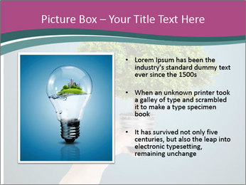 Hand hold eco green PowerPoint Templates - Slide 13