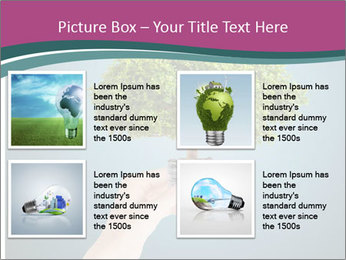 Hand hold eco green PowerPoint Templates - Slide 14