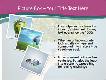 Hand hold eco green PowerPoint Templates - Slide 17