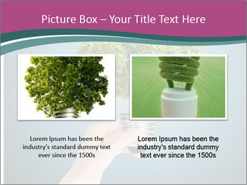 Hand hold eco green PowerPoint Templates - Slide 18