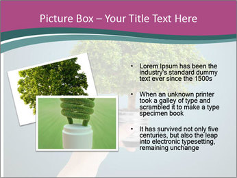 Hand hold eco green PowerPoint Templates - Slide 20