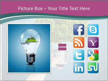 Hand hold eco green PowerPoint Templates - Slide 21