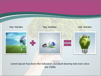 Hand hold eco green PowerPoint Templates - Slide 22