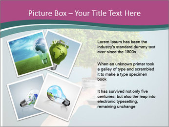 Hand hold eco green PowerPoint Templates - Slide 23