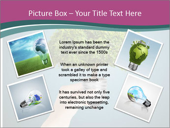 Hand hold eco green PowerPoint Templates - Slide 24