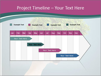 Hand hold eco green PowerPoint Templates - Slide 25