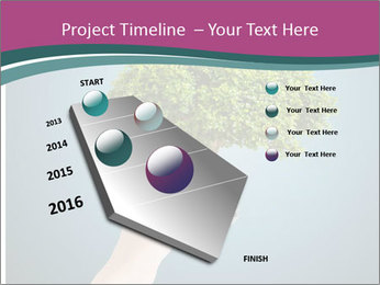 Hand hold eco green PowerPoint Templates - Slide 26