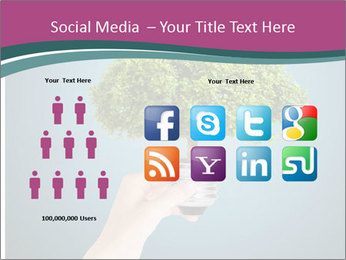 Hand hold eco green PowerPoint Templates - Slide 5