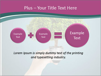 Hand hold eco green PowerPoint Templates - Slide 75