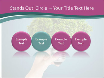 Hand hold eco green PowerPoint Templates - Slide 76