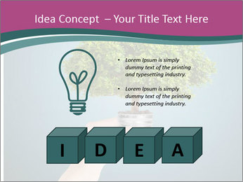 Hand hold eco green PowerPoint Templates - Slide 80