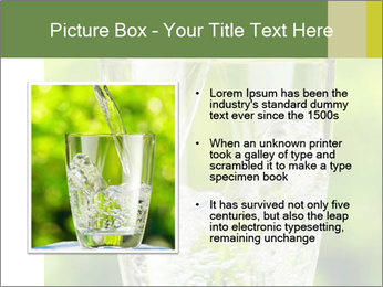 Glass of water PowerPoint Templates - Slide 13