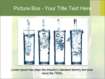 Glass of water PowerPoint Templates - Slide 15