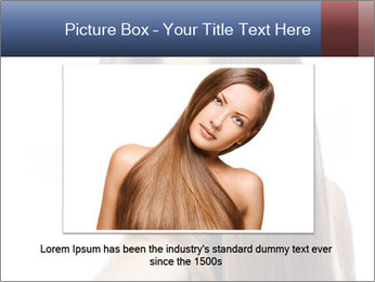 Elegant long shiny hair PowerPoint Template - Slide 16