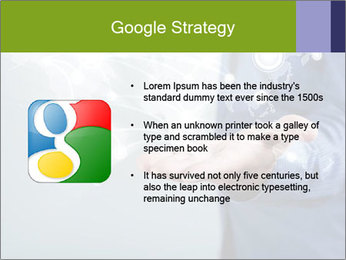 Hand pressing PowerPoint Templates - Slide 10