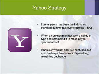 Hand pressing PowerPoint Templates - Slide 11