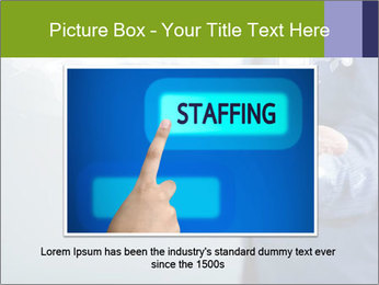Hand pressing PowerPoint Templates - Slide 15