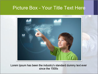 Hand pressing PowerPoint Templates - Slide 16