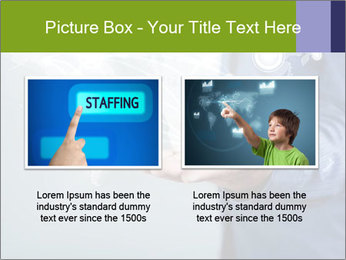 Hand pressing PowerPoint Templates - Slide 18