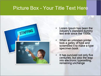Hand pressing PowerPoint Templates - Slide 20