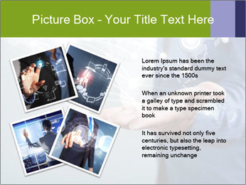 Hand pressing PowerPoint Templates - Slide 23