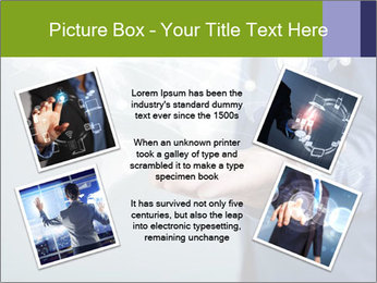 Hand pressing PowerPoint Templates - Slide 24