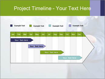Hand pressing PowerPoint Templates - Slide 25
