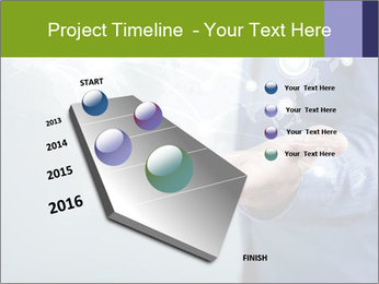 Hand pressing PowerPoint Templates - Slide 26