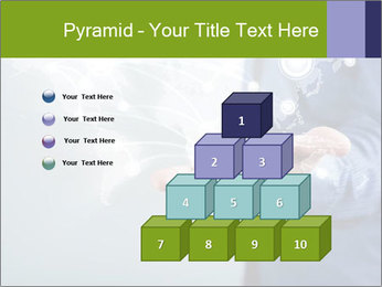 Hand pressing PowerPoint Templates - Slide 31