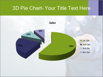 Hand pressing PowerPoint Templates - Slide 35