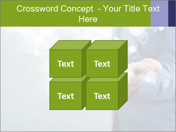 Hand pressing PowerPoint Templates - Slide 39