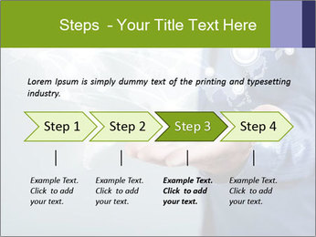 Hand pressing PowerPoint Templates - Slide 4