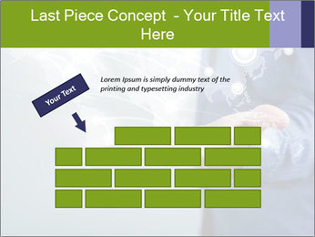 Hand pressing PowerPoint Templates - Slide 46