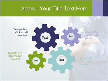 Hand pressing PowerPoint Templates - Slide 47