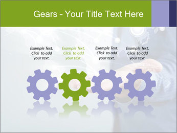 Hand pressing PowerPoint Templates - Slide 48