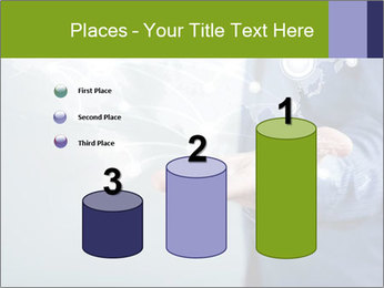 Hand pressing PowerPoint Templates - Slide 65