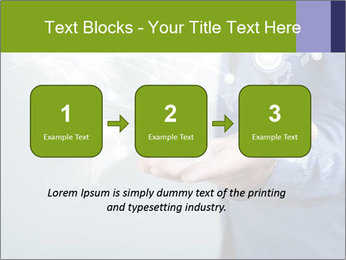 Hand pressing PowerPoint Templates - Slide 71
