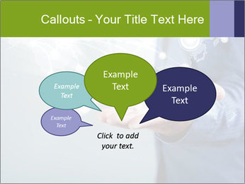 Hand pressing PowerPoint Templates - Slide 73