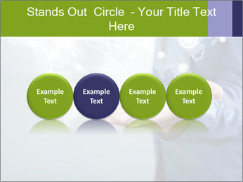Hand pressing PowerPoint Templates - Slide 76