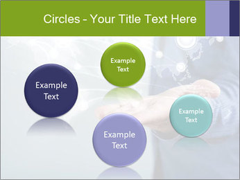 Hand pressing PowerPoint Templates - Slide 77