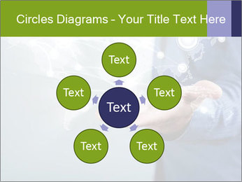 Hand pressing PowerPoint Templates - Slide 78
