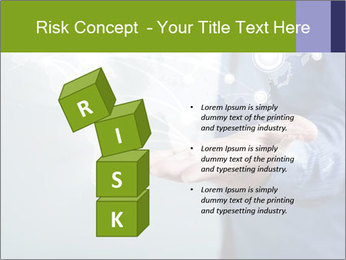 Hand pressing PowerPoint Templates - Slide 81