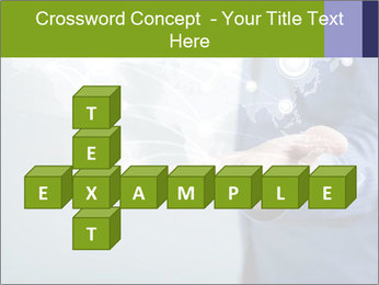Hand pressing PowerPoint Templates - Slide 82