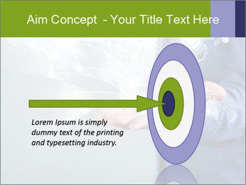 Hand pressing PowerPoint Templates - Slide 83