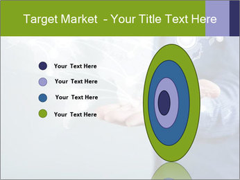 Hand pressing PowerPoint Templates - Slide 84
