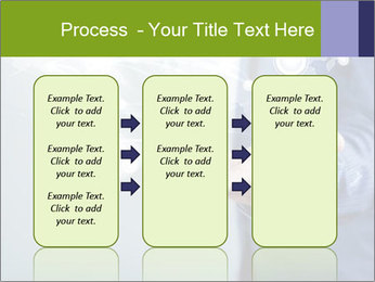 Hand pressing PowerPoint Templates - Slide 86