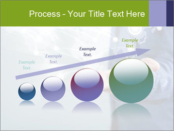 Hand pressing PowerPoint Templates - Slide 87