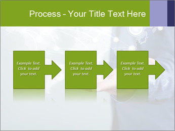 Hand pressing PowerPoint Templates - Slide 88